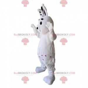 White rabbit mascot. White rabbit costume - Redbrokoly.com