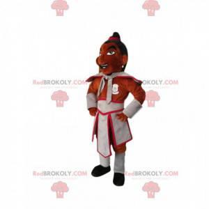 Maskot postavy s tradičním oblečením - Redbrokoly.com