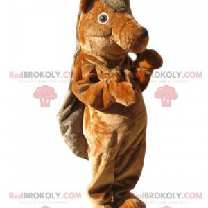 Mascota del castor marrón. Disfraz de castor - Redbrokoly.com