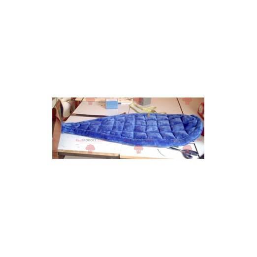 Blaues Biber-Maskottchen - Redbrokoly.com