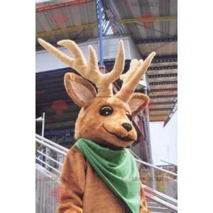Krásný vánoční sob maskot - Redbrokoly.com