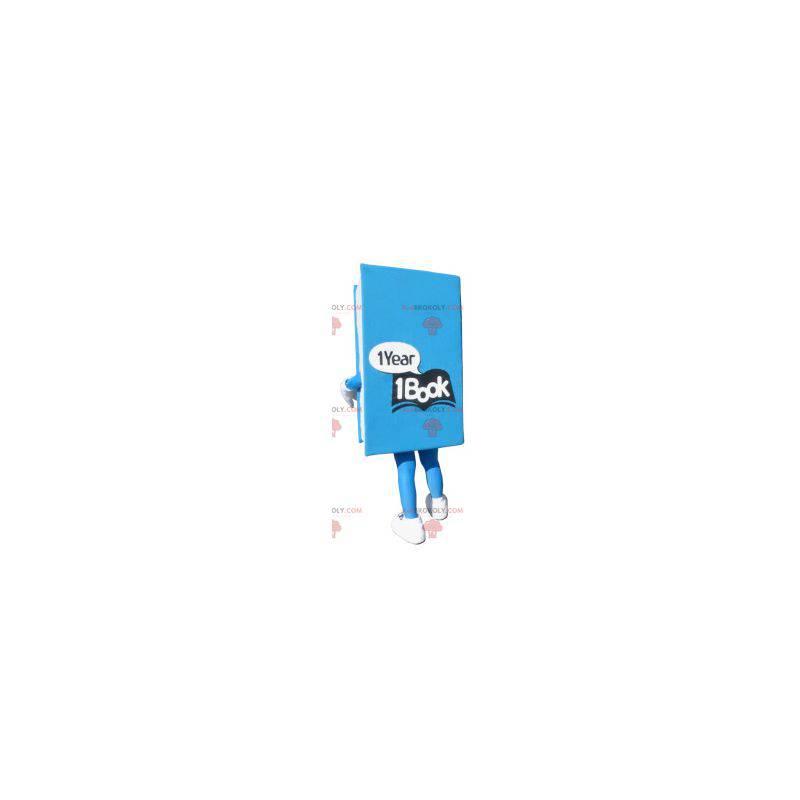 Obří modrá kniha maskot - Redbrokoly.com