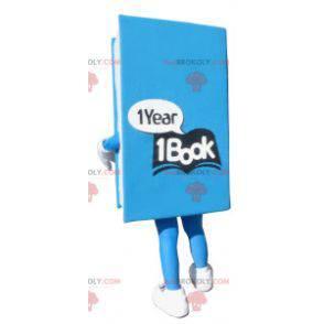 Gigant maskotka niebieska książka - Redbrokoly.com