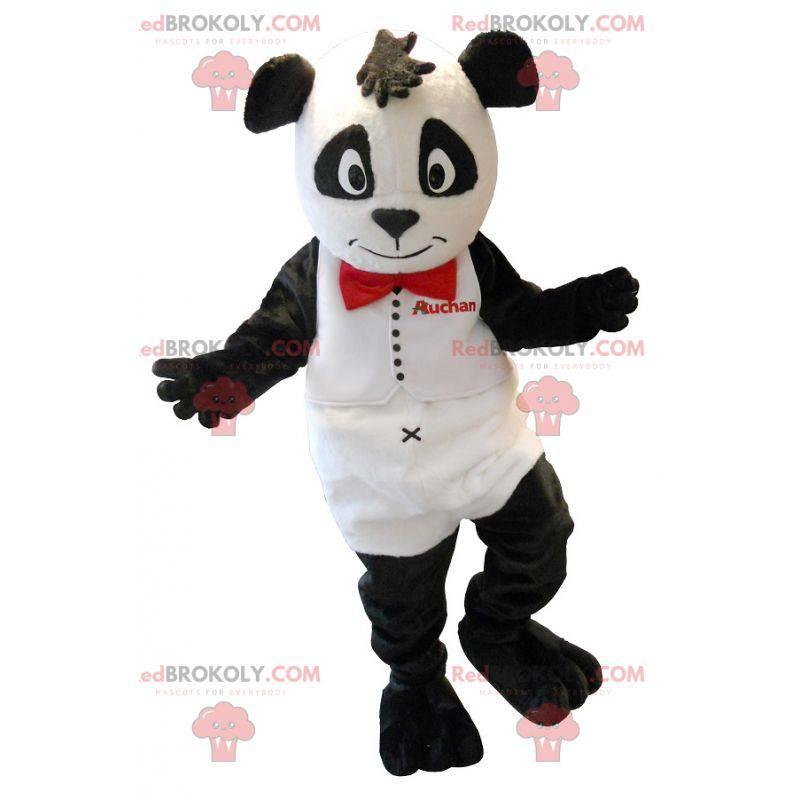 Pěkný černobílý panda maskot - Redbrokoly.com