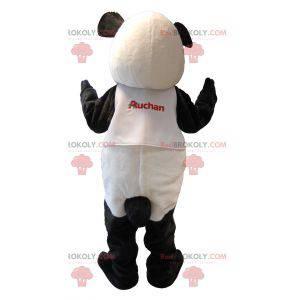 Pretty black and white panda mascot - Redbrokoly.com