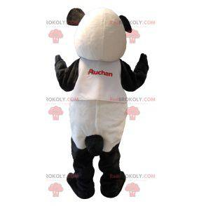 Ganske svart og hvit panda maskot - Redbrokoly.com