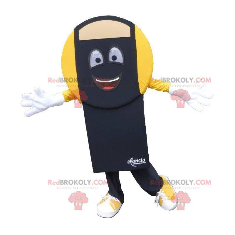 Czarno-żółta maskotka waga łazienkowa - Redbrokoly.com