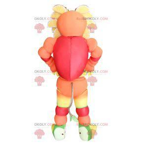 Multicolored fruity mascot - Redbrokoly.com