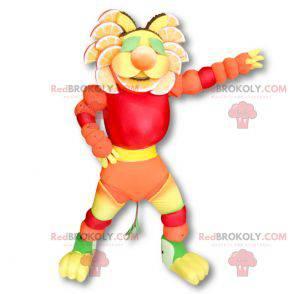 Vícebarevný ovocný maskot - Redbrokoly.com