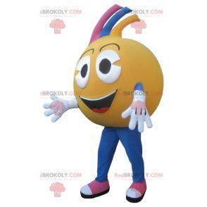 Orange mascot or giant clementine - Redbrokoly.com