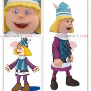 Blond Viking Gauls mascot - Redbrokoly.com