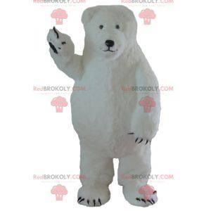 Stor og hårete isbjørnemaskot - Redbrokoly.com