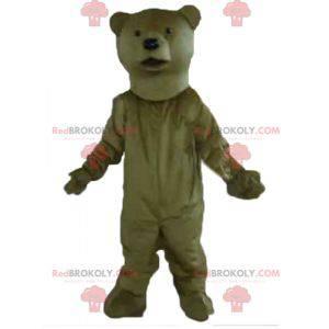 Riesiges und sehr realistisches Braunbärenmaskottchen -