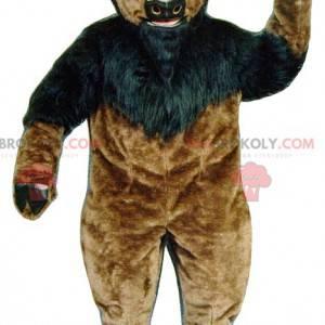 Obří hnědý a černý buvol buvol maskot - Redbrokoly.com