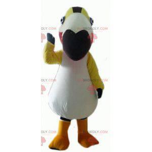 Mascota de pájaro colorido loro tucán - Redbrokoly.com