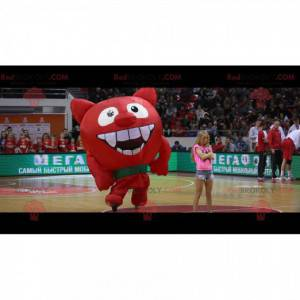 Maskot obří červený ďábel - Redbrokoly.com