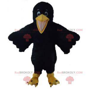 Gigantisk og søt svart og gul kråkemaskott - Redbrokoly.com