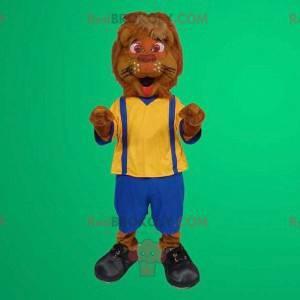 Lion maskotoveralls - Redbrokoly.com