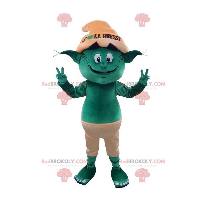 Grønn trollmaskott - Redbrokoly.com