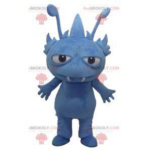Gnome fantastisk skapning blå monster maskot - Redbrokoly.com