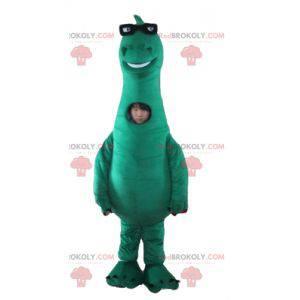 Denver großes grünes Dinosaurier Maskottchen der letzte