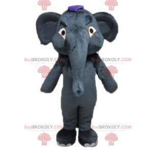 Obří a plně přizpůsobitelný maskot šedého slona - Redbrokoly.com
