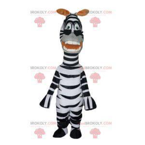 Maskottchen des berühmten Zebras Marty aus dem Cartoon