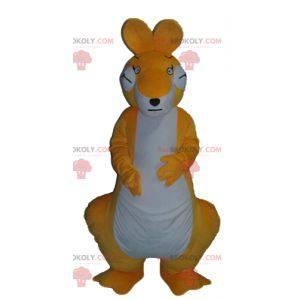 Riesiges und sehr erfolgreiches Känguru-Maskottchen in Orange