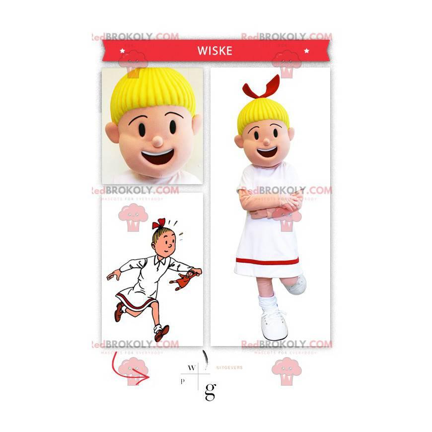 Bobette Kostüm berühmtes kleines Mädchen von Bob und Bobette -