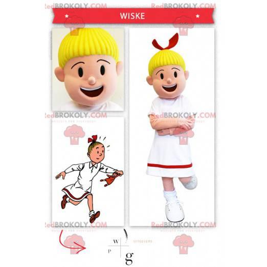 Bobette costume famous little girl from Bob and Bobette -