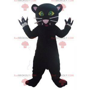 Velmi roztomilý a velmi realistický maskot černého pantera -