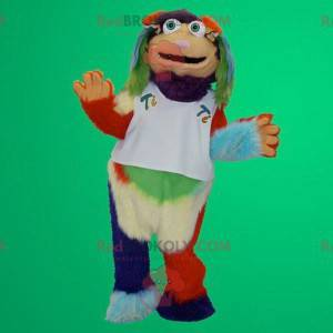 Multicolored yeti mascot - Redbrokoly.com