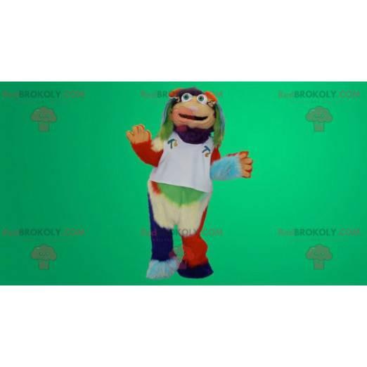 Vícebarevný maskot yeti - Redbrokoly.com