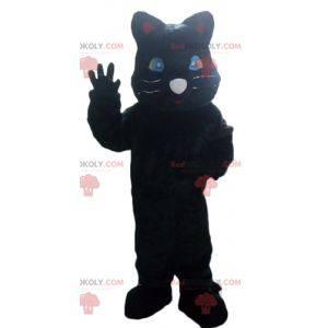 Maskot obří černý panter černá kočka - Redbrokoly.com