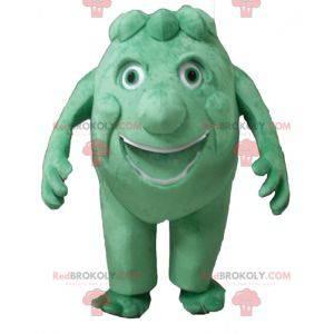 Obří artyčok zelené monstrum maskot - Redbrokoly.com