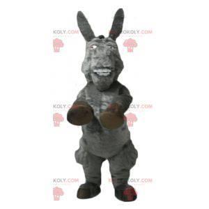 La famosa mascotte dell'asino del cartone animato Shrek -
