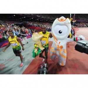 Alien Maskottchen - Maskottchen der Olympischen Spiele 2012 -