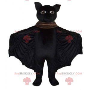 Velmi úspěšný velký černý netopýr maskot - Redbrokoly.com