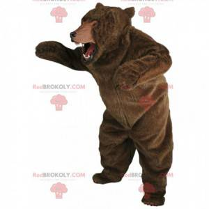 Giant and very realistic brown bear mascot - Redbrokoly.com