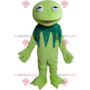 Berühmtes Kermit Frosch Maskottchen von der Muppets Show -
