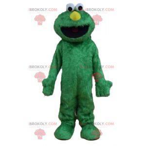 Mascote do Elmo, famoso boneco do show dos Muppets verdes -