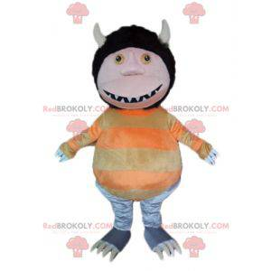 Podivné stvoření Goblin Gnome maskot s ušima - Redbrokoly.com