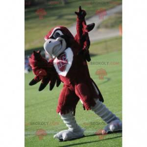 Maskottchen des roten und weißen Adlergeiers - Redbrokoly.com