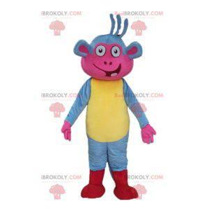 Babouche mascot the famous monkey of Dora the explorer -