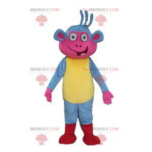 Mascote de Babouche, o famoso macaco de Dora, a exploradora -