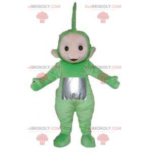 Dipsy mascot the famous green cartoon Teletubbies -