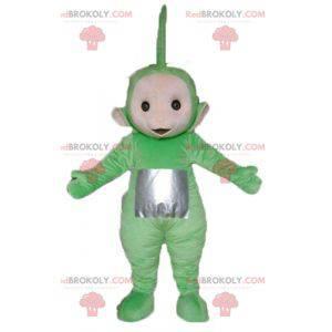 Dipsy mascotte de beroemde groene cartoon Teletubbies -
