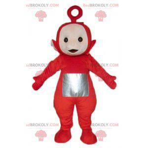 Po, la famosa mascota de los Teletubbies rojos de dibujos