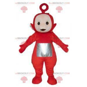 Po la famosa mascotte dei Teletubbies dei cartoni animati -