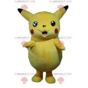 Maskot Pikachu slavný žlutý kreslený Pokemeon - Redbrokoly.com